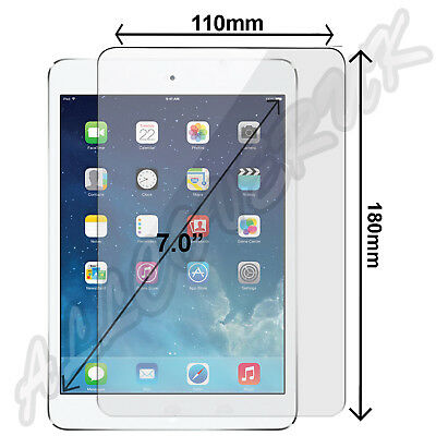 """Tempered Glass Film Screen Protector For XGODY M874 730N 7 Inch Universal 7"""""""