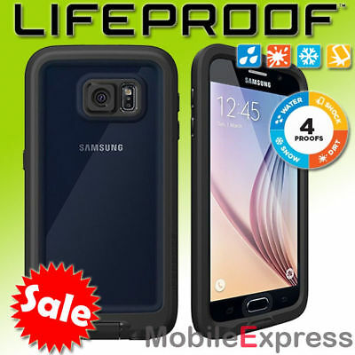 GENUINE Lifeproof Fre Shock Proof – Waterproof Case Cover for Galaxy S6 in Black