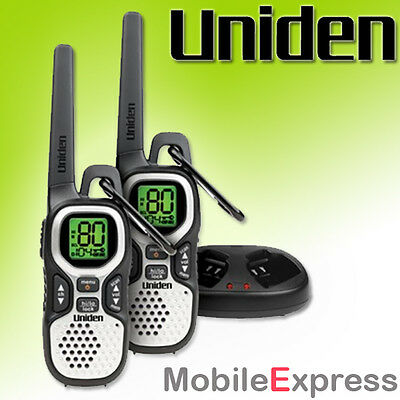 Genuine Uniden Uh510-2 Handheld 80 Channel 1W Uhf Cb Two Way Radios Twin Pack