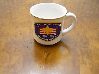 Boy Scout 1985 National Jamboree Coffee Mug (Excellent Condition
