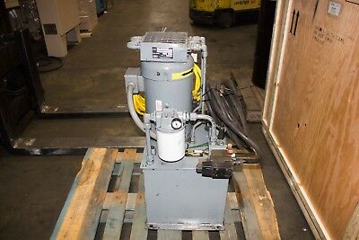 10 HP x 10 Gallons Parker V-Pak Hydraulic Power Pack Unit