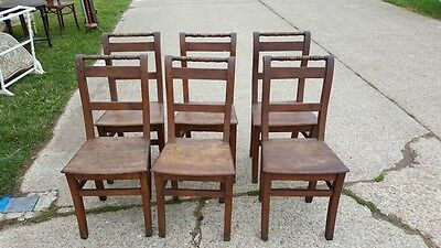 6 French Kitchen Chairs