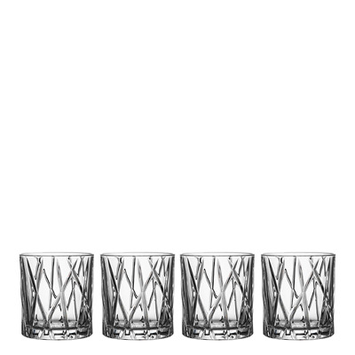 Orrefors City Old Fashioned - Set of 8