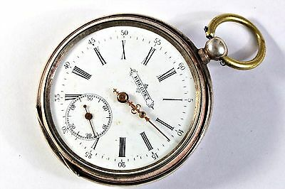 Breguet Pocket watch solid silver - Antique for Russian market / to restore