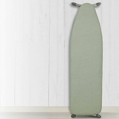 "54""x15"" NWT-Heat Reflective Ironing Board Replacement Pad and Cover-Green/White"