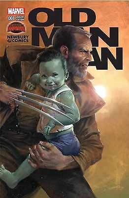 Old Man Logan #1  Gabriele Dell'Otto NEWBURY COMICS VARIANT, Marvel