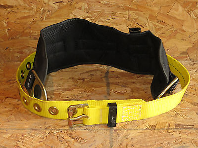 Safety Harness Belt with Positioning Back Pad Medium Size Safety Equipment
