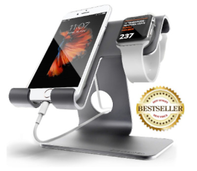 Universal 2 in 1 Cell Phone Desktop Tablet Stand ZVE Apple watch Charging Stand
