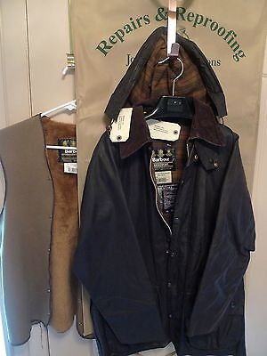 Barbour- A190 Beaufort Jacket+ Hood & Liner- Rewaxed @ Barbour-Made @england-40