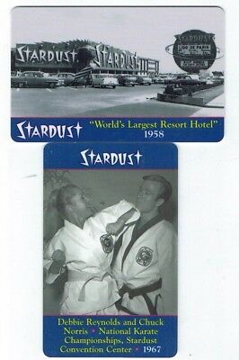 STARDUST Las Vegas Casino Room KEY Card - World's Largest Resort Hotel 1958