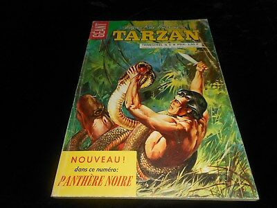 Tarzan géant 5 grand format sagédition 1970