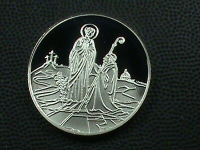 VATICAN  500  Lire  1984  PROOF  DEEP  CAMEO  ,  SILVER ,  NOT  IN  KRAUSE  !