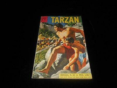 Vedettes TV : Tarzan 32 Sagédition novembre 1970