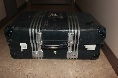Vintage Revelation expanding suitcase 1920s HTF No smell. Wedding, prop, display