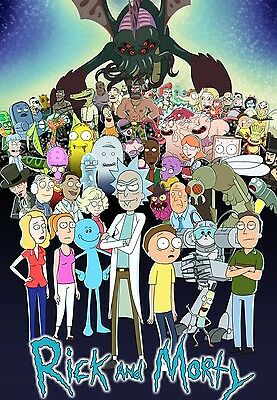 Rick And Morty RAM06 A3 A4 POSTER PRINT BUY 2 GET 1 FREE