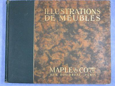 MAPLE & CO : Illustrations de meubles (Maple & Co) vol 1