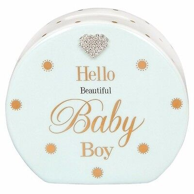 Mad Dots Baby Boy Money Box. Gift