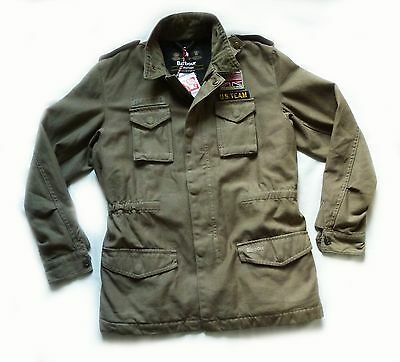 "Bnwt Barbour Steve Mcqueen "" Thunder "" I.s.d.t  Jacket - Small  -  £149 - Icon"