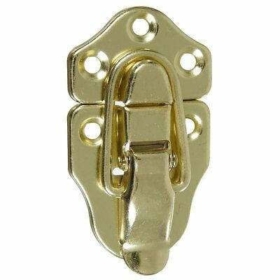 National Hardware N208-595 V1848 Draw Catch, Bright Brass