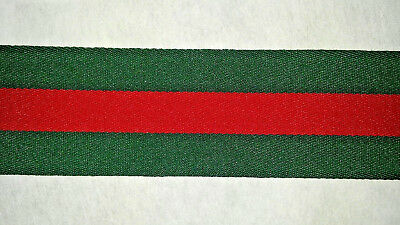 Original GUCCI Woven Band Label Colors for Cap T Shirt Jacket diy Sell by 6 inch