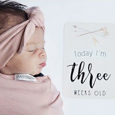 Baby Milestone Cards, Boho Baby Cards, Gender Neutral Baby Gift