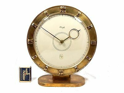 Beautiful KIENZLE  Heinrich Möller Design Tischuhr / table clock  working