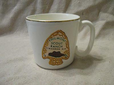 VTG BSA Philmont Scout Ranch Cimarron NM Coffee Mug USA Pottery Boy Scout Mug