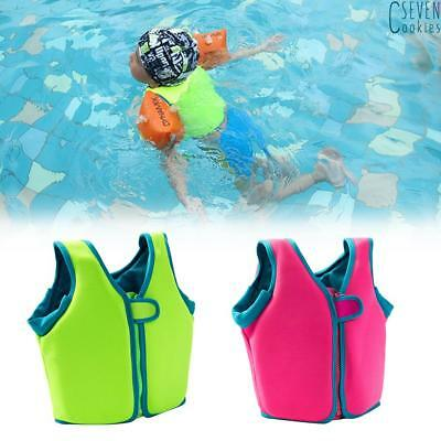 Kids Children Swimming Float Jacket vest training Buoyancy aids Learn to Swim UK