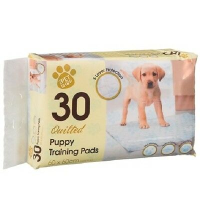 Quilted Puppy Dog Pet Training Pads 30pk (60cm x 60cm)
