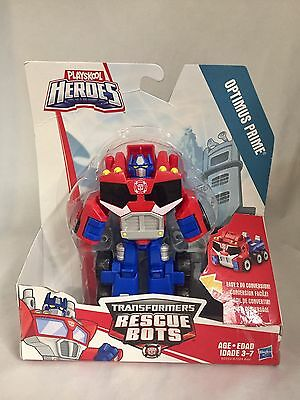 Playskool Heroes Transformers Rescue Bots Optimus Prime Figure - Loose Figure
