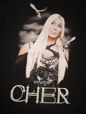 2003 CHER Living Proof FAREWELL Tour Concert (2XL) T-Shirt