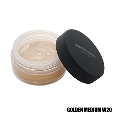 Bare Escentuals bareMinerals Foundation GOLDEN MEDIUM W20 Original SPF15 8g NEW
