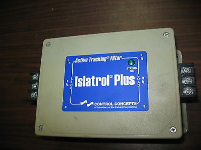 Control Concepts Islatrol Plus IC+115 Active Tracking Filter