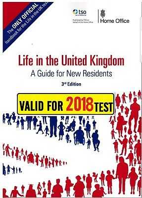Life in the UK 3rd Edition & practice Q & A papers soft copy/PDF valid for 2018
