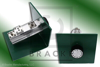 BRACKE BM10094 SMA ROTARY ATTENUATOR O-100 db's in 10 db steps  DC to 2.5GHz