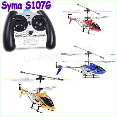 3.5CH RC Helicopter with Radio Control Metal Syma S107G S107 alloy fuselage R...
