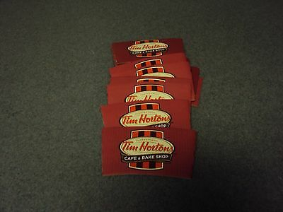 Older Tim Hortons paper cup sleeves (12) and (6)