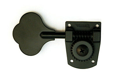 Hipshot Bass Guitar Tuning Key • HB7 (MIM Fender) • Black • Right Side