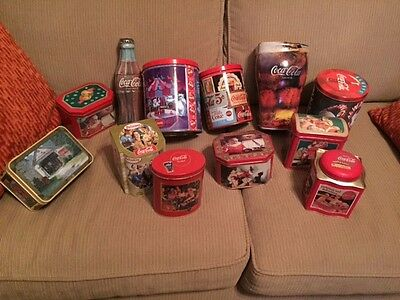 Coca Cola Tins - Assortment of 12