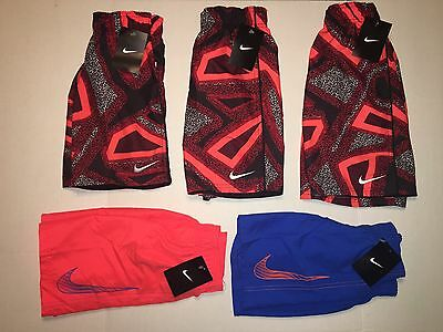 NWT Nike Kids Bathing Suit Sizes 4, 5, 6, 7 - Price Per Pair (Pick and Choose)