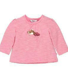 NEW Bebe Bebe Ebony L/S Stripe Cloud Tee Babies Kids
