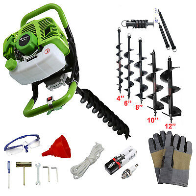 71cc hole digger ground drilling machine Earth drill Tree Planting Gas power POP