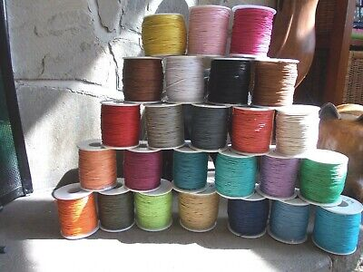 4 or 10 METRES OF COTTON CORD,1MM, STRING BRACELET,NECKLACE,JEWELLERY MACRAME