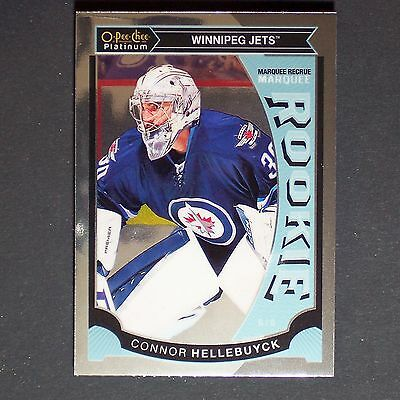 CONNOR HELLEBUYCK  RC 2015/16 OPC Platinum #M36  Winnipeg Jets   Rookie Single