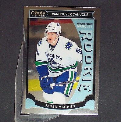 JARED McCANN  RC  2015/16 OPeeChee Platinum Rookie #M20  Florida Panthers