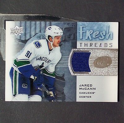 JARED McCANN  Rookie Jsy  2015/16 ICE Fresh Threads #FTJM  Florida Panthers  RC