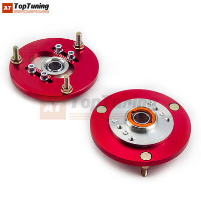 For BMW 3 Series (E36) 91-98 Front Coilover Suspension Absorber Camber Plate RED