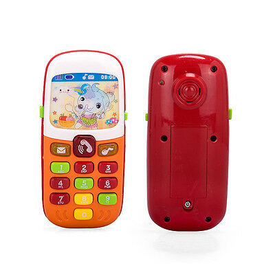 Baby Kids Music Phone with Light Children Study Educational Sound Learning Gift