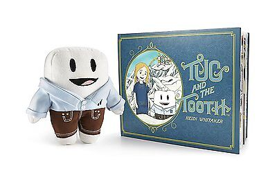 Tug and the Tooth – Plush Tooth Fairy Toy with a Backpack & Hardcover Tooth Book