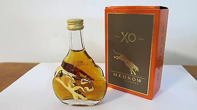 MEUKOW XO Cognac 50ml Miniature with Gift Box Product of France